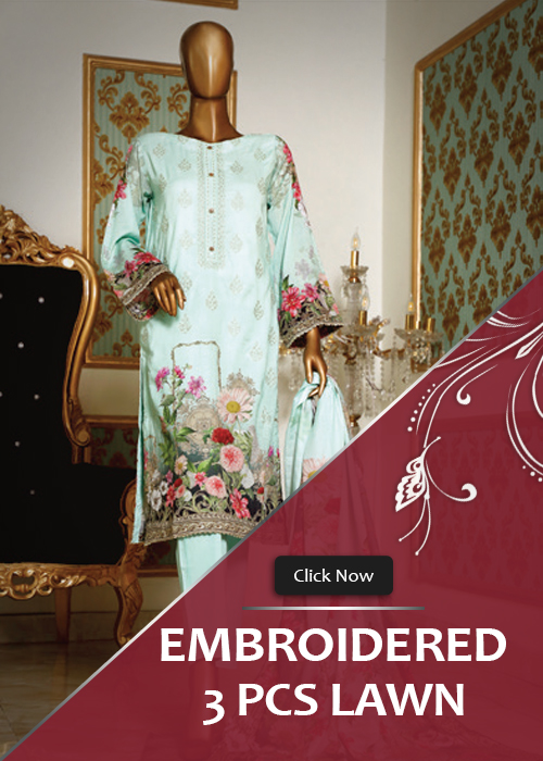 3 Piece Lawn Embroidery Spring Collection Vol. 1