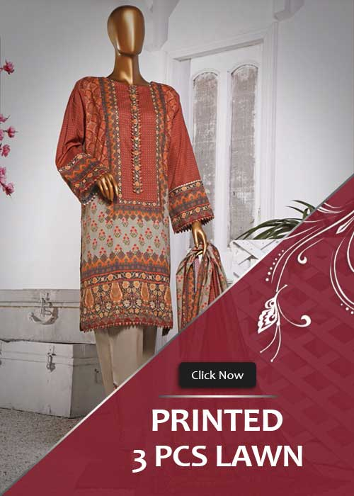 3 Piece Lawn Printed Collection 2021 Vol. 1