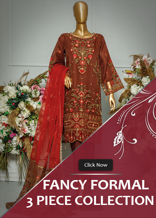 3 Piece Fancy Formal Collection 2021 Vol-3