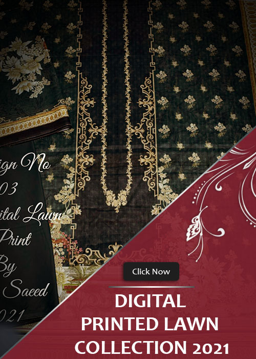 Digital Printed UnStitched Collection 2021 Vol-1