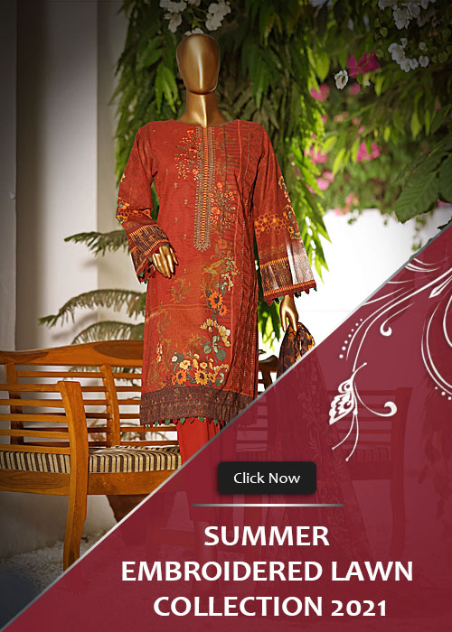 Summer Embroidered Lawn Collection Vol-1