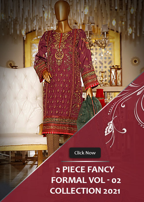 2 Piece Fancy Formal Collection 2021 Vol-2