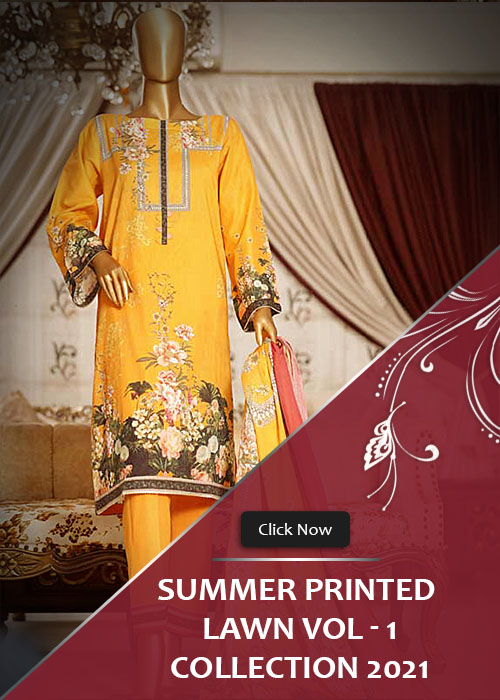 Summer Printed Lawn Collection 2021 Vol-1