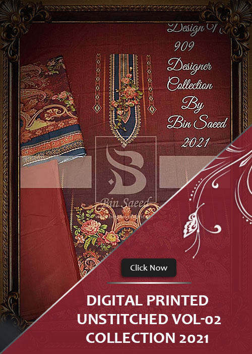 Digital Printed UnStitched Collection 2021