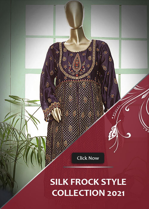 Silk Frock Style Collection 2021