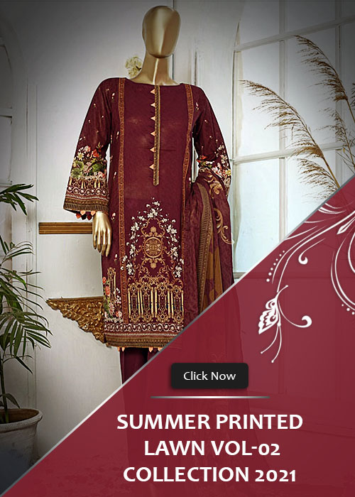 Summer Printed Lawn Collection 2021