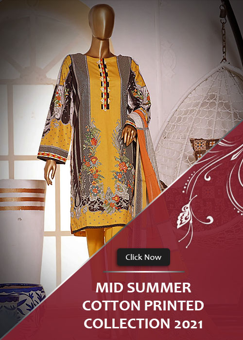 Mid Summer Cotton Printed Collection 2021