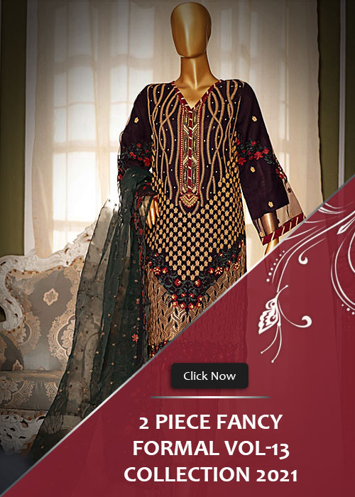 2 Piece Fancy Formal Collection 2021 Vol-13