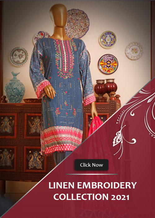Linen Embroidery Collection 2021 Vol-2