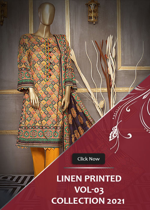 Linen Printed Collection 2021 Vol-3